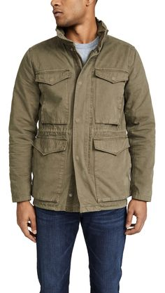 The fall arrivals continue to roll in at East Dane with plenty of stylish options to add to your wishlist. Brands such as Madewell and offer up pieces that… The Fashionisto, Field Jacket, China Fashion, Madewell, Military Jacket, Mens Fashion, Stylish, Long Sleeve, Men's Jackets