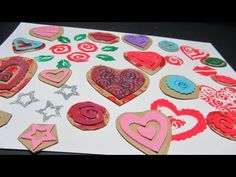 Como hacer sellos personalizados. How to make stamps. - YouTube