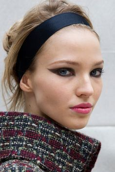 Looks From PFW Fall 2015: Chanel #makeup #fashion