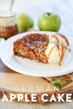 German Apple Cake from Our Best Bites