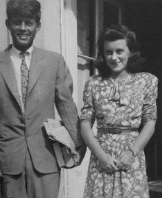 Rose Kennedy's Family Album - John and Kathleen Kennedy in England, 1945.