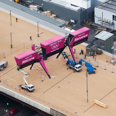 london olympics 2012: the look of the games - Entrance Gantry