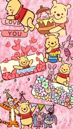 Disney, kawaii wallpaper, winnie the pooh friends, disney winnie the pooh, Disney Phone Wallpaper, Cartoon Wallpaper Iphone, Bear Wallpaper, Cute Wallpaper Backgrounds, Cute Cartoon Wallpapers, Kawaii Wallpaper, Winnie The Pooh Pictures, Cute Winnie The Pooh, Winne The Pooh