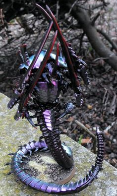 Hive Tyrant, Special Character, Swarmlord, Tyranids, Warhammer 40,000 - Gallery - DakkaDakka | Like the Black Library but easier to find.