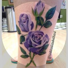 Lavender rose for teacup tattoo