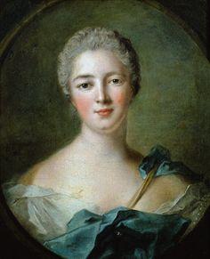 Nattier, Jean Marc : Madame de Pompadour (1721-...