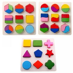 Kids Baby Wooden Toys Puzzle Learning Geometry Educational Toys For Children Montessori Early Intellectual Kids Toys Brinquedos Puzzle Montessori, Montessori Color, Montessori Toys, Montessori Classroom, Educational Toys For Kids, Learning Toys, Early Learning, Preschool Learning, Preschool Toys