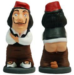 Caganer Dalí