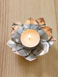 Upcycle Tealight Holders