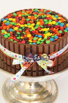 Kitkat cake! Lucy's 2nd Birthday Cake