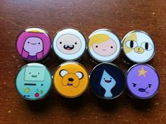Hey, I found this really awesome Etsy listing at http://www.etsy.com/listing/155549355/adventure-time-plugs-choose-2