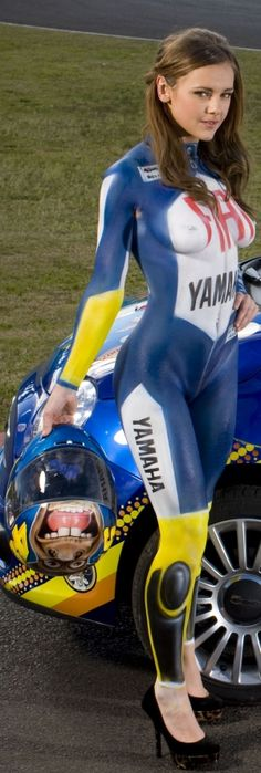 Must be a Valentino Rossi fan.