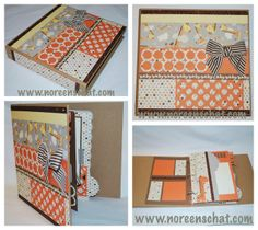 Noreen's Scrap N Chat: CTMH Cricut Artbooking Baby Mini-Album