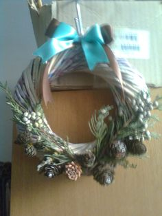 Venček pre Sonku Hanukkah, Wreaths, Home Decor, Homemade Home Decor, Door Wreaths, Deco Mesh Wreaths, Interior Design, Home Interiors, Floral Arrangements