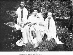 Empress Menen with children