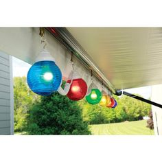 Time to get festive!  Add these multicolor globe lights to your Rv and stand out.  On sale this week! http://ss1.us/a/4nSwPypF