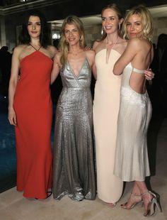 Famosas na festa da Calvin Klein