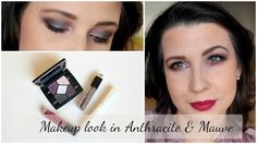 """Makeup  Look in anthracite and mauve [Monday Shadow Challenge]   Hello beauties!  I hope your weekend was all you expected it to be. We are back home and took it easy on the weekend. We arrived from our vacation on Saturday quite late in the evening and we spent our Sunday mostly quietly. I blogged a lot answered to emails comments read my favourite bloggers and wrote this article for you! So yes you guess right today will be laundry-heavy lol. Today's makeup lookfor the """"Monday Shadow…"""