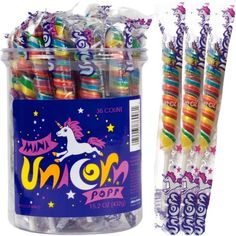 Mini Unicorn Pops -