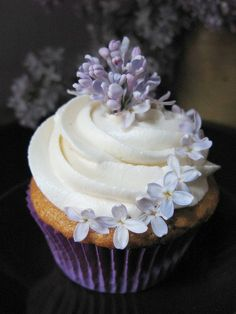 Lilac Cupcake by QuintanaRoo by SyGuildmistress, via Flickr