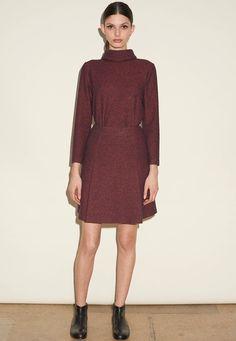 40 самых теплых платьев на осень и зиму