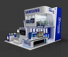 SAMSUNG Exhibition Stand Design on Behance