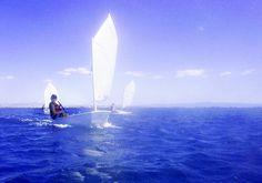 People in Pendik, Turkey (race sailing optimist) - a photo by Ahmet Akdağ