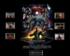 Avengers Film Cell Presentation : Movie Poster 2