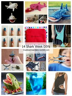 14 of the Best DIY Shark Week Crafts from...