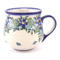 Love this mug! Polish pottery from http://slavicapottery.com