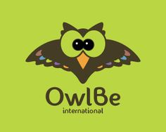 OWLBE Logo design - This logo is ideal for a business related to: children/youth/teen clothing stores, clothing brands, stores babies and kids, toy shop, school, games, photography birds, blog, learning, fashion, teaching, retail, restaurant, resort, hotel, photographer, gift shops, kids wear, tech, website, internet, software development, apps, kid's fashion, therapist, not for profit organization, learning center, home decor, boutique, gift store, charity, florist, wedding coordinator…