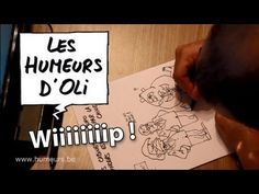 La naissance d'une Humeur d'Oli en vidéo ! Les Humeurs d'Oli - Work in progress - Dessin de presse