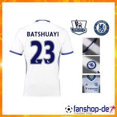New FC Chelsea BATSHUAYI 23 Third Trikot Weiß 2016 2017 Fan Shop Kaufen cb8efc886b46b