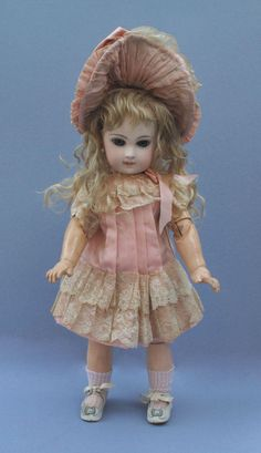 """Stunning 14"""" Jumeau Second Series / damage! please read description. from arielbebes on Ruby Lane"""