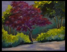 An Original Acrylic Painting by Elizabeth Lee of Richmond, Virginia