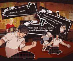 when he tells u ur place in life is next to him<<< but you still can't date him Persona Five, Persona 5 Memes, Persona 5 Joker, Ryuji Sakamoto, Shin Megami Tensei Persona, Akira Kurusu, 5 Anime, Lol, Video Games