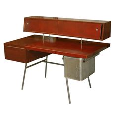 George Nelson Desk, ca. 1952.