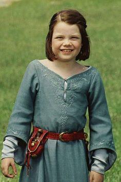 Georgie Henley (Le Monde de Narnia). before