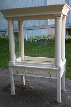 Large Bird Aviary Cabinet $750 - Warrenville http://furnishly.com/large-bird-aviary-cabinet.html