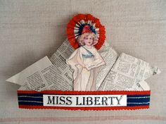 Miss Liberty - 4th of July hat