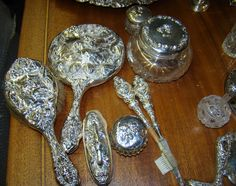 your source for Antiques, Appraisals, Auctions and much Dresser Sets, Vanity Set, Potpourri, Beautiful Things, Auction, Antiques, Tableware, Google Search, Antiquities