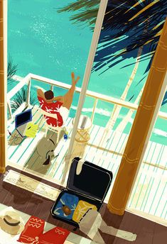 ⌨I COULD GET USED TO THAT by Pascal Campion⌨ #pascalcampion #paintings #artwork