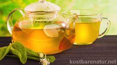 Medicinal tea blend against tight and dry cough - Hausmittel Dry Cough, Tea Culture, Tea Blends, Kraut, Healthy Drinks, Herbalism, Tea Pots, Tableware, Herbal Teas