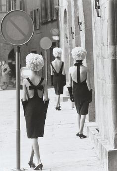 LBD by Capucci, Florence Queen Magazine, March 1961 Photographer: Norman Parkinson