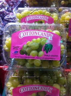 Cotton Candy Grapes Are Seriously Sweet - Neatorama