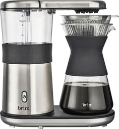 online shopping for Brim 8 Cup Pour Over Coffee Maker, Silver from top store. See new offer for Brim 8 Cup Pour Over Coffee Maker, Silver Pour Over Coffee Maker, Coffee And Espresso Maker, Coffee K Cups, Coffee Art, Drip Coffee, Coffee Nook, Coffee To Water Ratio, Single Serve Coffee, Coffee Crafts
