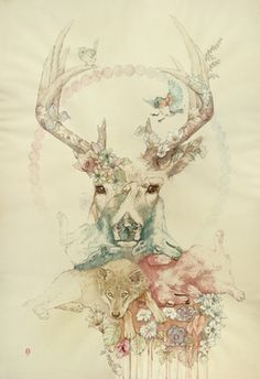"Saatchi Online Artist Oriol Angrill Jordà; Painting, ""Campanella Wildlife"" #art"