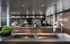 나이키 식당 / Uxus | 디자인 공간