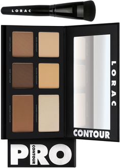 Lorac Pro Contour Palette with Pro Contour Brush for Summer 2015