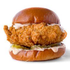 Vegan Popeye's Chicken Sandwich